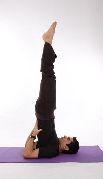 yoga-Sarvangásana yoga e as glândulas