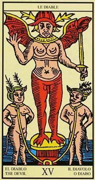 tarot: carta do diabo